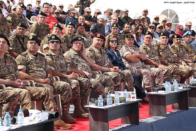 السفيرة اليزابيث ريتشارد : تهنئ الجيش اللبناني